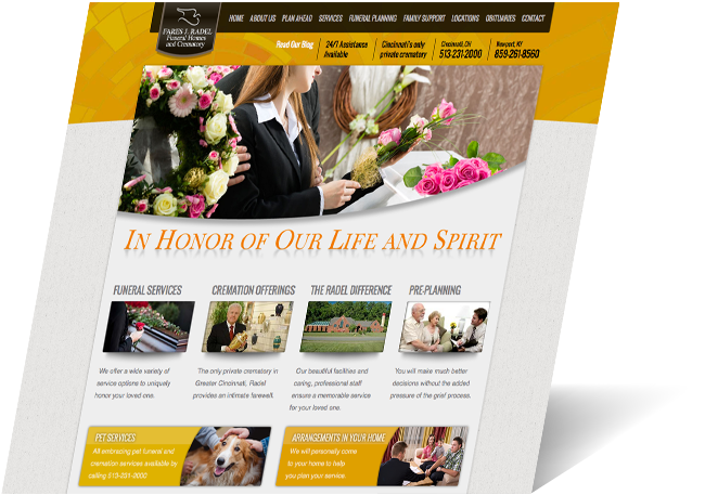 Fares J. Radel Funeral Homes And Crematory (Radel) Was Struggling To  Generate Sales At Its Three Funeral Homes For Both Traditional Funerals And  Cremations.